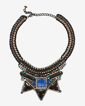 Nocturne Aden Necklace: Black