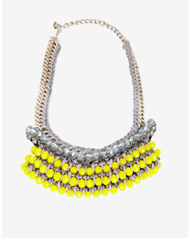 Nocturne EXCLUSIVE Lemon Collar Necklace