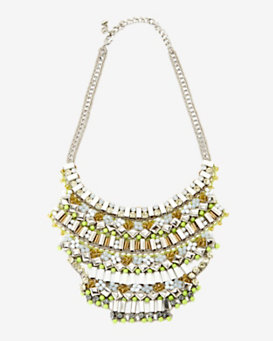 Nocturne Nasrin Embellished Bib Necklace