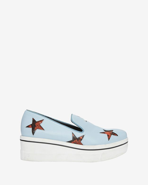 Stella McCartney Star Cut Out Slip On Sneakers