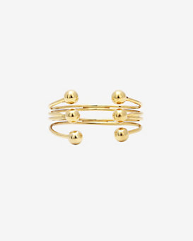 Kacey K 3-Layer Open Cuff with Spheres