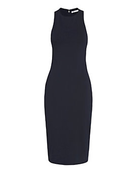 T by Alexander Wang Bandeau Back Ponte Dress