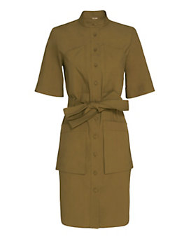Adam Lippes Waist Tie Shirt Dress
