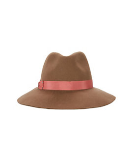 Genie By Eugenia Kim Florence Wide Brim Fedora: Brown