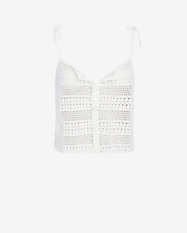 Joie EXCLUSIVE Crochet Crop Top