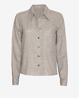 L'Agence Button Placket Shirt