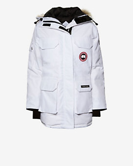 Canada Goose Expedition Parka: White