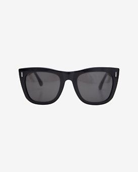 SUPER Sunglasses Gals Sunglasses: Black/Silver