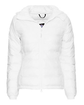 Canada Goose Camp Short Hooded Jacket: White