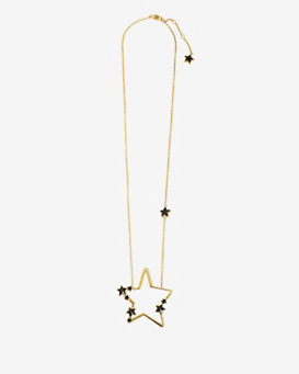 Sonia Rykiel Star Pendant Necklace