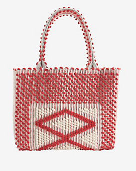 Antonello Sardinia Medium Tote: Red