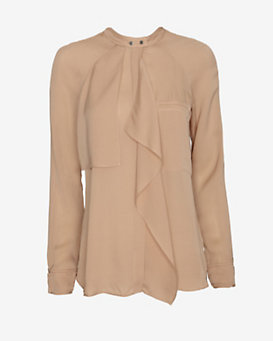 A.L.C. Catherine Ruffle Blouse