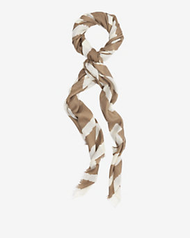 By Malene Birger Striped Wool Scarf