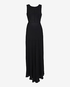 L'Agence Snap Back Long Dress