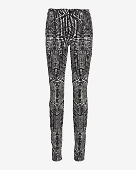 J Brand Kaleidoscope Print Supper Skinny