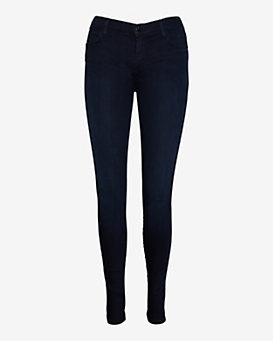 J Brand Dark Blue Stocking Skinny