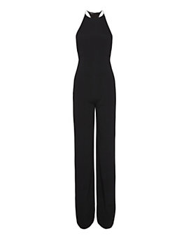 Narciso Rodriguez Back Harness Crepe Jumper