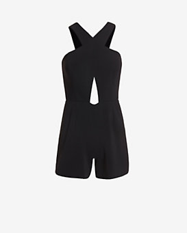Jay Godfrey Cut Out Romper