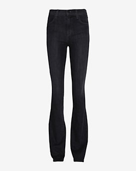 J Brand High Rise Boot Cut: Grey