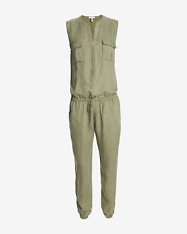 Joie EXCLUSIVE Cargo Sleeveless Jumsuit