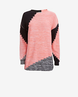Sonia by Sonia Rykiel Marled Sweater Tunic