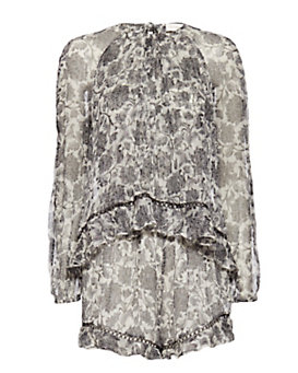Zimmermann EXCLUSIVE Tarot Print Romper