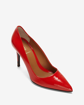 Fendi Patent Leather Pump: Red