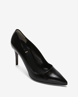 Fendi Patent Leather Pump: Black