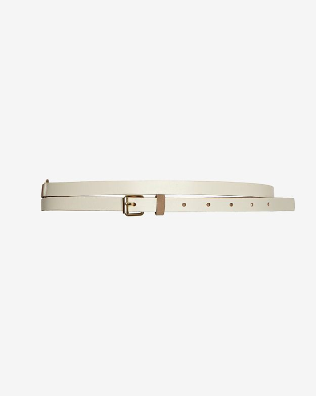Maison Boinet Colorblock Skinny Wrap Belt