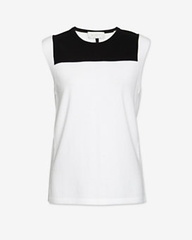 A.L.C. Colorblock Knit Tank