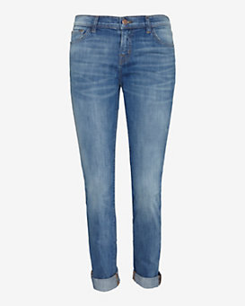J Brand Jake Low-Rise Slim Boyfriend
