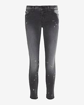 J Brand Photo Ready Outsider Acid Wash Skinny: Grey