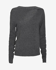 A.L.C. Robinson Cut Out Neckline Sweater