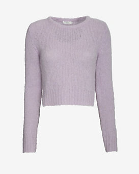 A.L.C. Covington Ribbed Crop Sweater