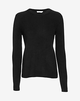 A.L.C. Gregg Ribbed Sweater: Black