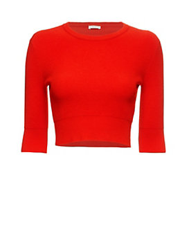A.L.C. Hansen Crop Knit Top