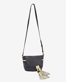 See by Chloe Vicki Tassel Bucket Bag: Midnight