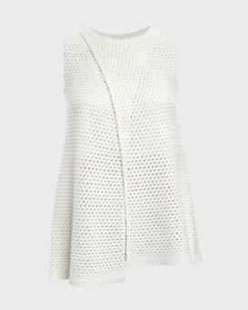 Thakoon Addition Sleeveless Cross Over Top