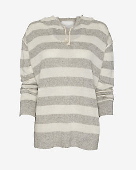 Amateurs Striped Hooded Sweater