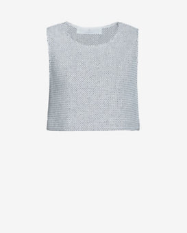 Thakoon Addition Cropped Knit Tank