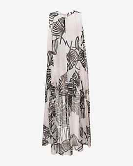 Thakoon Addition Long Printed Caftan