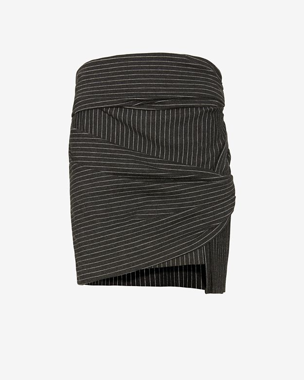 Thakoon Addition Striped Wrap Skirt REMOVED PER BUYER