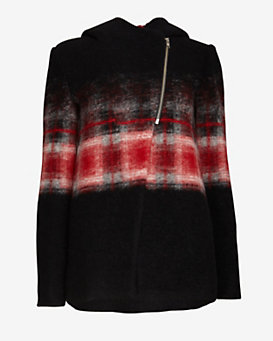 Thakoon Addition Trapeze Plaid Jacket