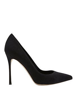 Sergio Rossi Godiva Piper Pointy Toe Pump: Black