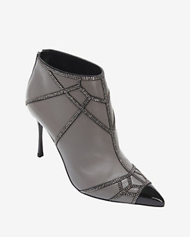 Sergio Rossi Crystal Bootie