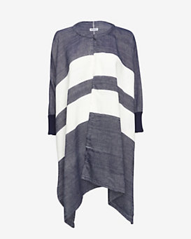 Apiece Apart EXCLUSIVE Striped Poncho