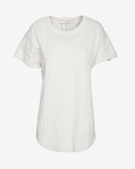 IRO Pleated Shoulder Tee