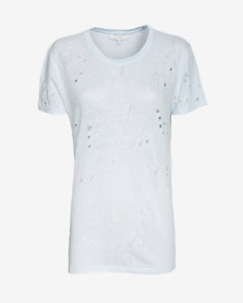 IRO Clay Tee With Holes