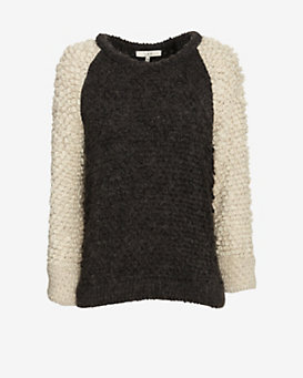 IRO Two Tone Loop Sweater