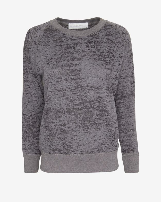 IRO Lisbet Burnout Sweatshirt